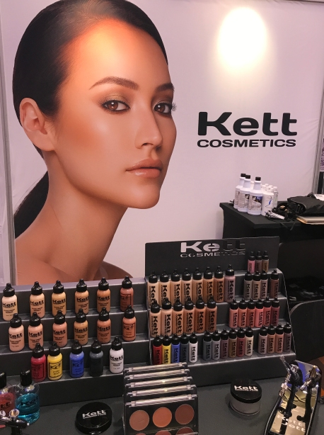 Kett Cosmetics Booth at The Makeup Show